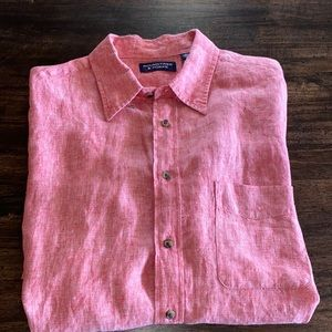 Roundtree & Yorke Linen Button Down